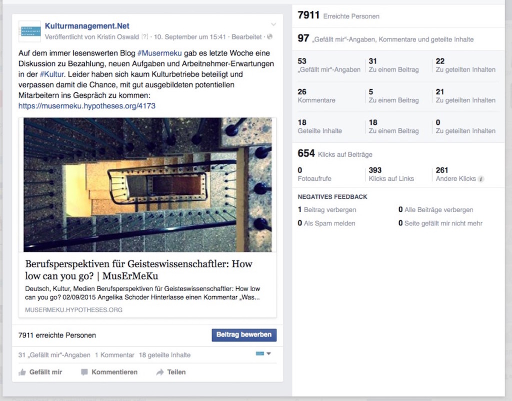Screenshot vom 15.09.2015 zur Verfügung gestellt von Kulturmanagement.Net