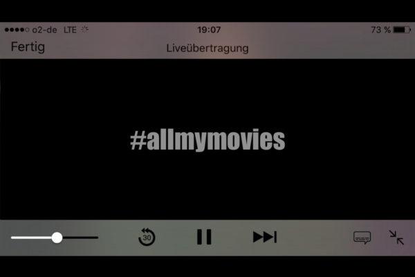 #allmymovies: Tagelang sah sich Shia LaBeouf alle Filme an, in denen er je mitgespielt hatte. Eine öffentliche Selbstinszenierung.
