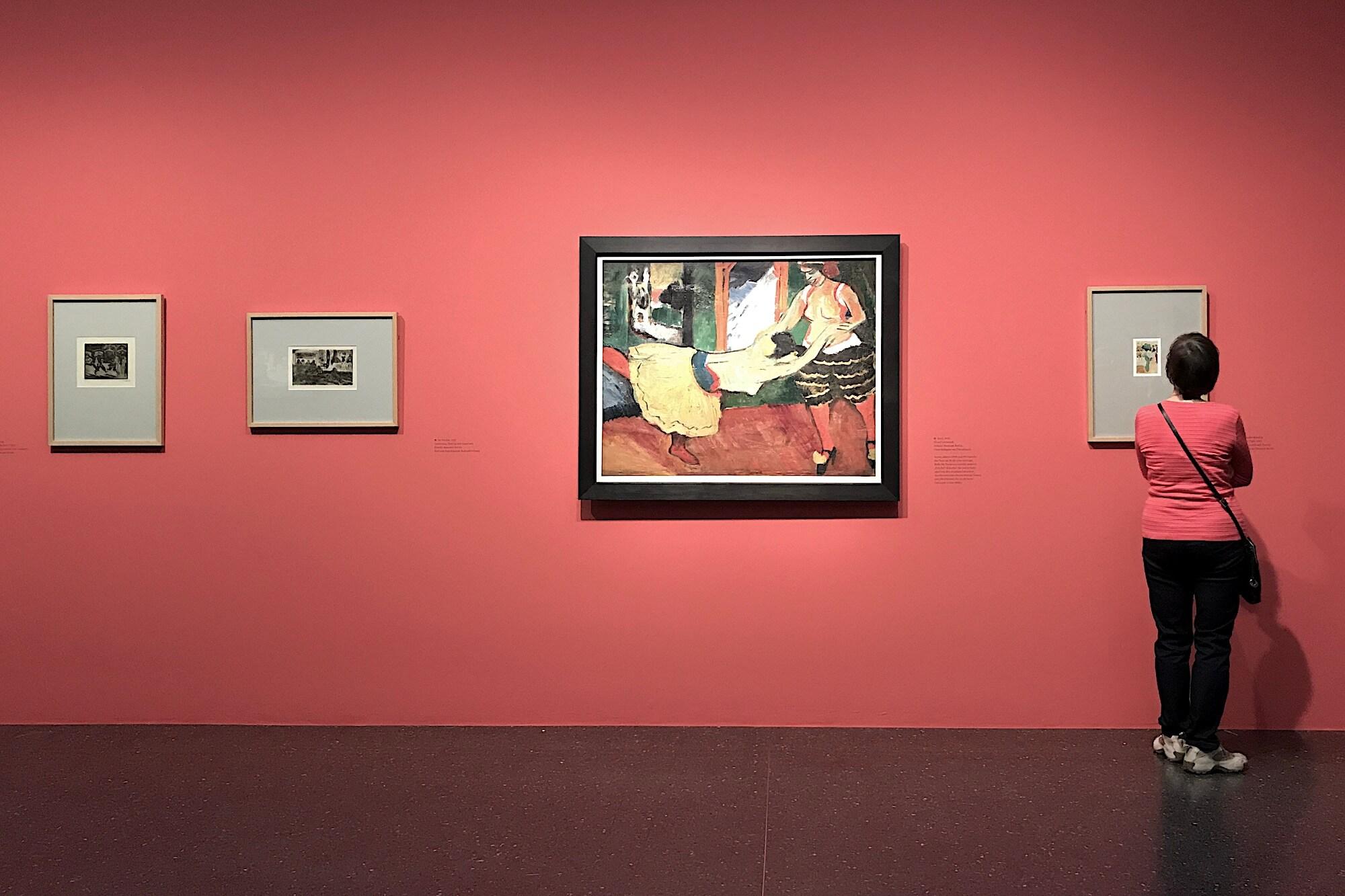 """Das Bucerius Kunst Forum zeigt mit """"Max Pechstein. Künstler der Moderne"""" erstmals eine Einzelausstellung des Künstlers in Hamburg."""