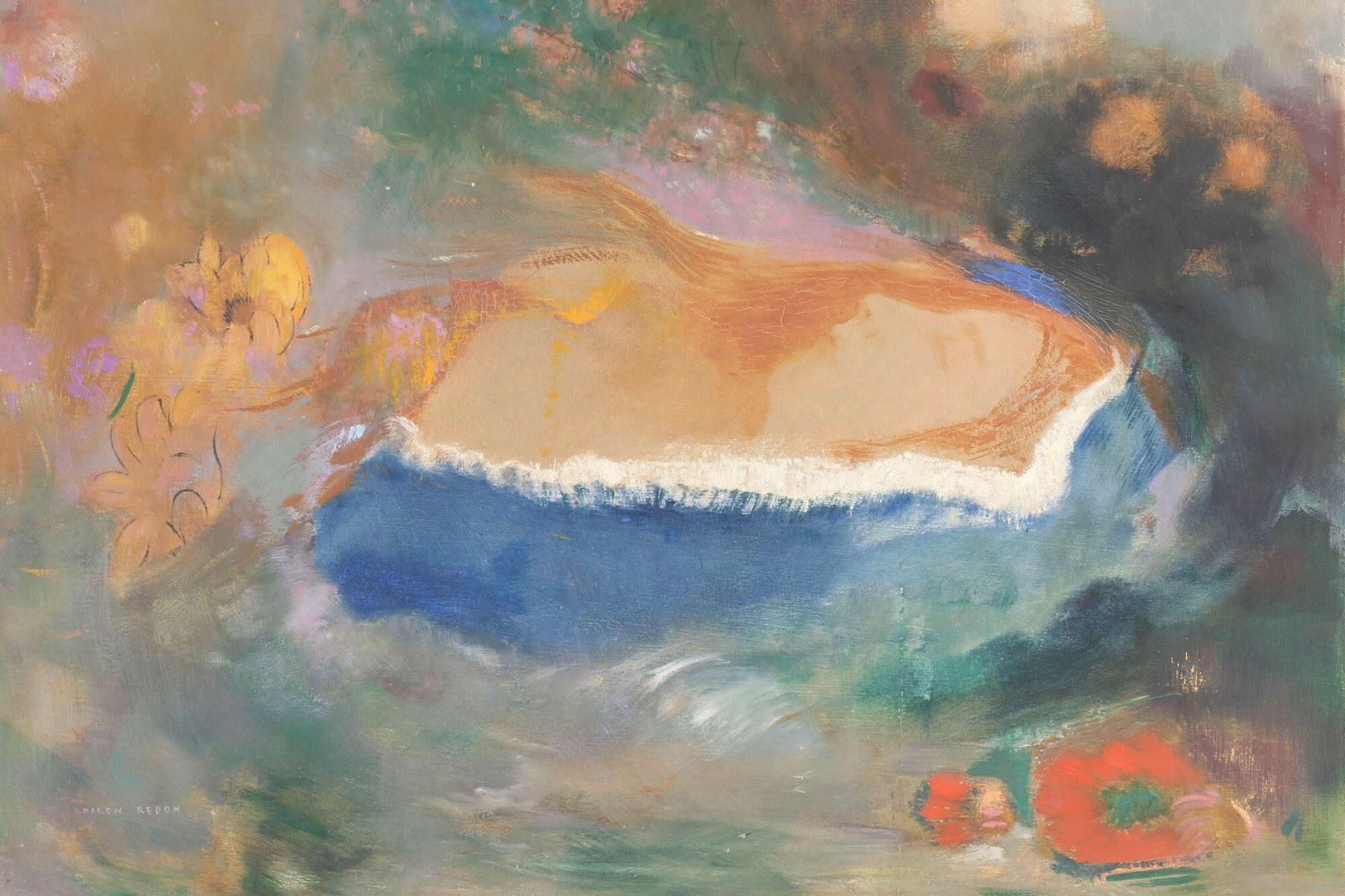 Eine Ausstellung im Kröller-Müller Museum widmet sich erstmals dem Einfluss, den Musik und Literatur auf das Werk von Odilon Redon ausübten.