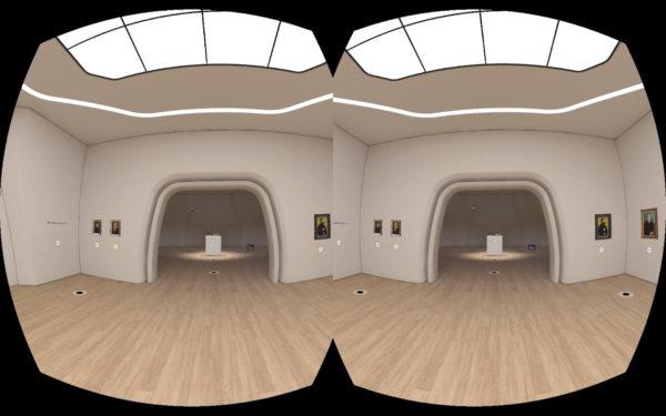 """VR-Ansicht: """"Cranach in Weimar"""" (ab 13. Februar 2019), Klassik Stiftung Weimar in der Digitalen Kunsthalle von ZDFkultur"""