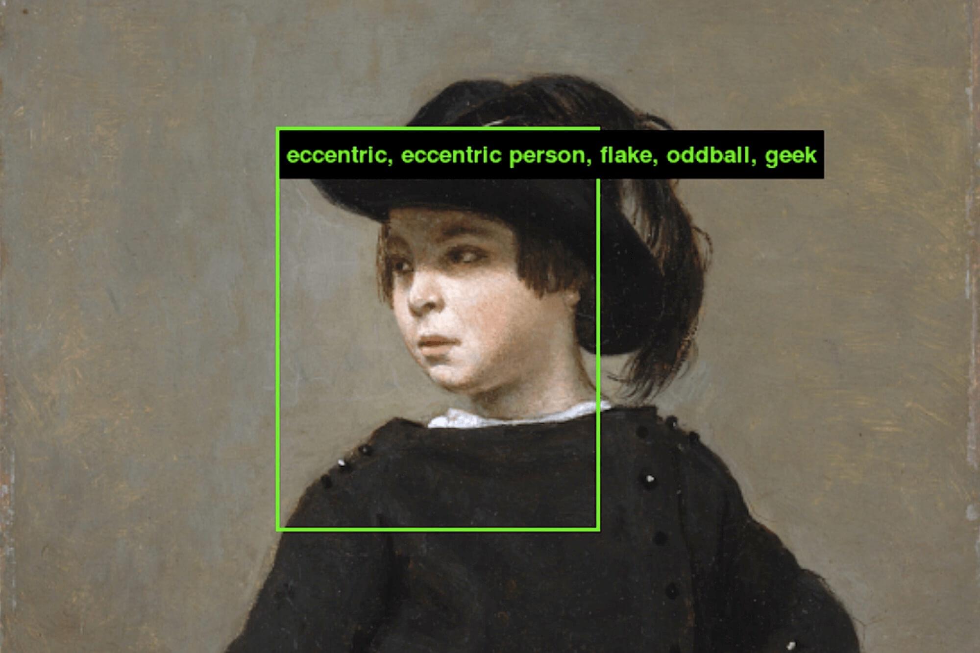 Das Kunst-Projekt ImageNet Roulette von Kate Crawford und Trevor Paglen zeigt, dass Künstliche Intelligenz von Rassismus und Vorurteilen beeinflusst wird.