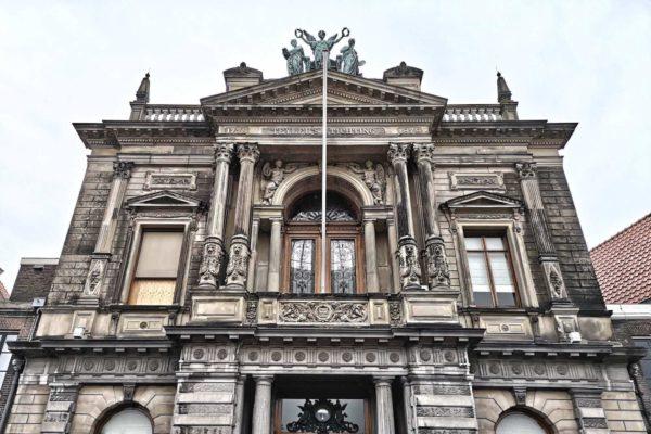 """Im Jahr 1784 wurde """"Teyler's Physisch en Naturaliën Kabinetten en Bibliotheek"""" der Öffentlichkeit zugänglich gemacht"""