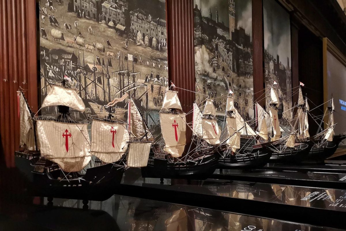 Das Archivo Gerneral de Indias in Sevilla widmet der ersten Weltumsegelung von Magellan eine große Sonderausstellung: El Viaje Más Largo