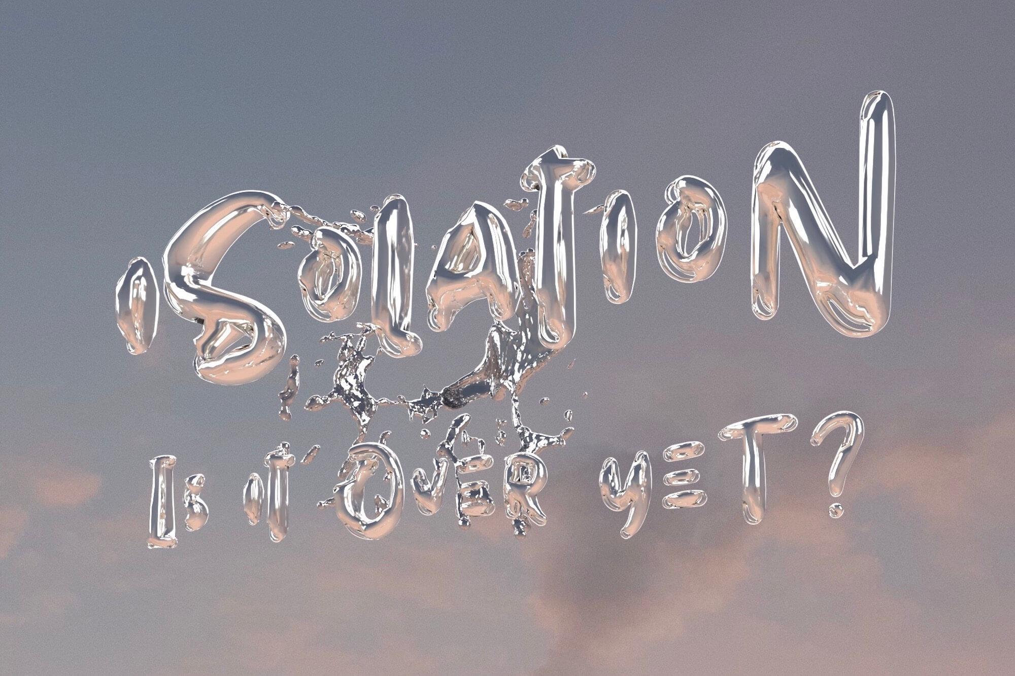 """In der Ausstellung """"iSOLATION. is it over yet?"""" zeigt der italienisch-schweizerische Künstler Andy Picci seine Kunstwerke in einem Augmented Reality-Filter im sozialen Netzwerk Instagram."""