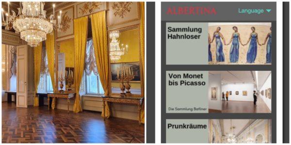 Das Albertina Museum Wien setzt auf einen modular angelegten Guide von Nubart
