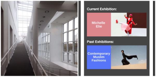 Das Museum für Angewandte Kunst Frankfurt nutzte den Nubart-Guide zunächst zu einer Sonderausstellung