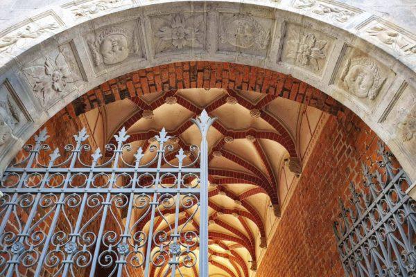 Der Fürstenhof in Wismar gilt als erstes bedeutendes Renaissance-Bauwerk Mecklenburgs