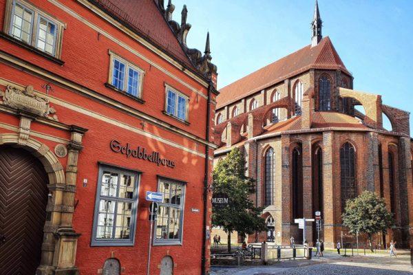 Im historischen Schabbell-Haus ist das Stadtgeschichtliche Museum der Hansestadt Wismar untergebracht