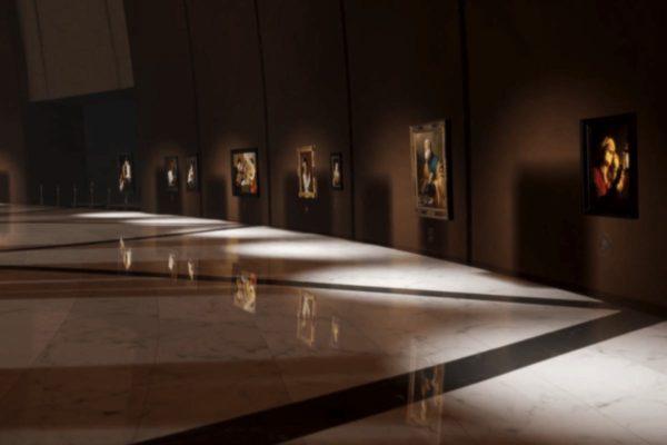 Das Museum zeigt 74 Werke Alter Meister, die bis ins Detail betrachtet werden können. (Screenshot der Kremer Collection - Kremer Museum)