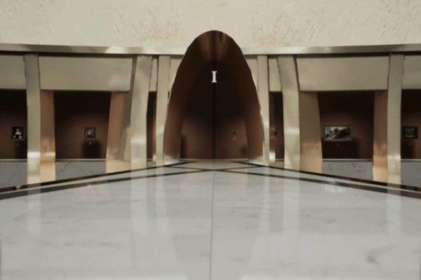 Das Virtuelle Museum für die Kremer Collection wurde von Architekt Johan van Lierop entworfen. (Screenshot der Kremer Collection - Kremer Museum)