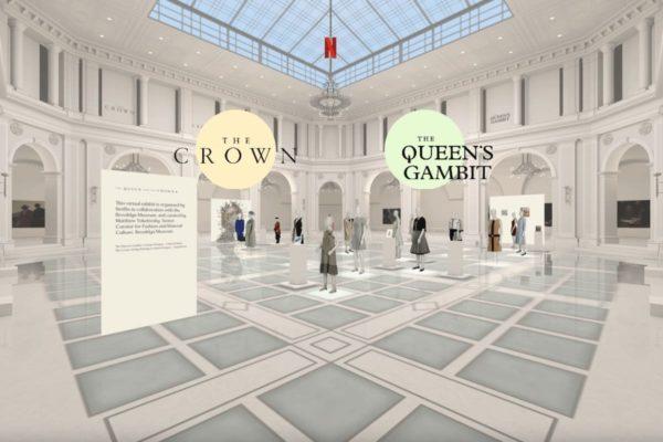 """Die Ausstellung """"The Queen and The Crown"""" ist im virtuellen Lichthof des Brooklyn Museum zu sehen. (Screenshot aus der Ausstellung """"The Queen and The Crown"""" - Brooklyn Museum / Netflix)"""