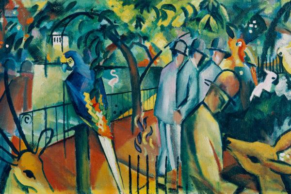 """Das Museum Wiesbaden zeigt in der Ausstellung """"Paradies! Paradies?"""", wo der expressionistische Künstler August Macke das Paradies fand."""