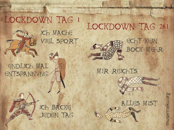 Lockdown - Angelika Schoder via Bayeux Historic Tale Construction Kit