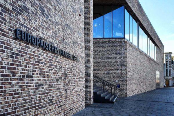 Der Neubau des Europäischen Hansemuseums Lübeck wurde 2015 eröffnet.