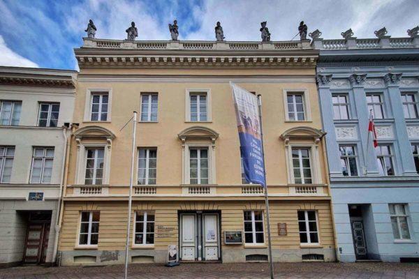 Das Museum Behnhaus Drägerhaus befindet sich in zwei Stadtpalais aus dem 18. Jhd.