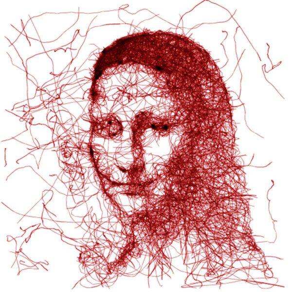Mona Lisa gezeichnet von AI Draw