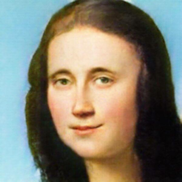 Mona Lisa mit AI Gahaku bearbeitet