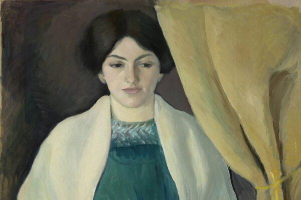 """Die Ausstellung """"August und Elisabeth Macke. Der Maler und die Managerin"""" zeigt, welche Rolle Elisabeth Macke als Modell und als Nachlassverwalterin einnahm."""