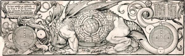 Hans Holbein d. J.: Instrumentum beider Lichter mit der Darstellung eines Drachen - Kunstmuseum Basel
