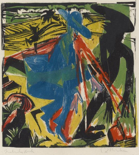 Ernst Ludwig Kirchner: Schlemihls Begegnung mit dem Schatten - Kunstmuseum Basel