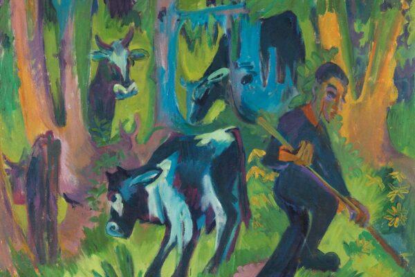 """In der Ausstellung """"Au rendez-vous des amis"""" in der Pinakothek der Moderne treten zwei bedeutende Kunstsammlungen in Dialog miteinander."""